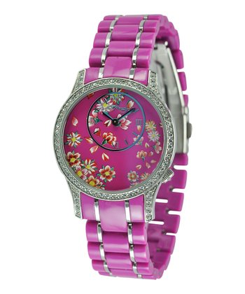 Pink Jasmine Watch - Women