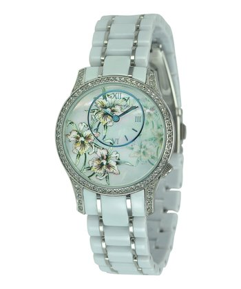 White Jasmine Watch - Women