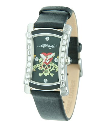Black 'Love Kills' Oasis Watch - Women