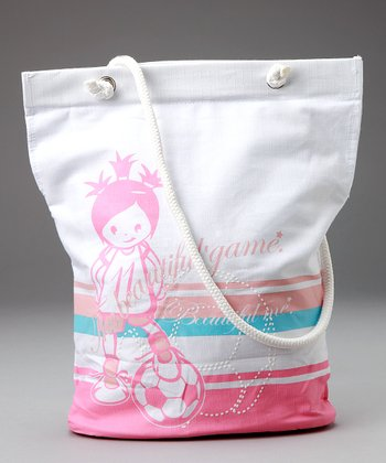 White 'The Beautiful Game' Tote
