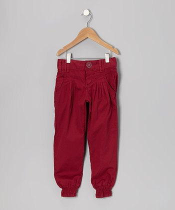 Red Earth Pants - Toddler & Girls