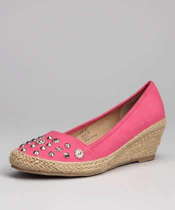 Pink Holly Espadrille