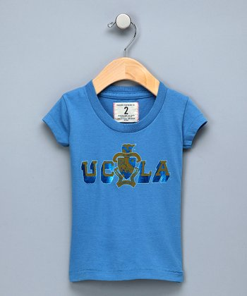 Lake Blue 'UCLA' Tee - Girls