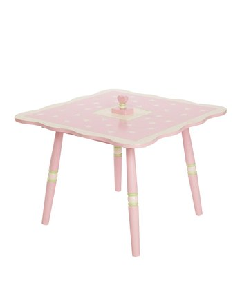 Pink Rock-a-My-Baby Table
