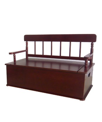 Cherry Storage Bench