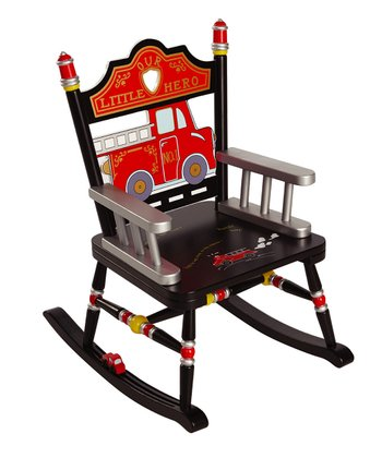 Black Fire Engine Rocker
