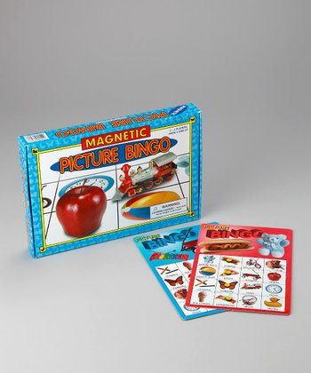 Magnetic Picture Bingo Game