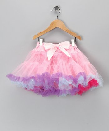 Pink & Purple Pettiskirt - Infant, Toddler & Girls