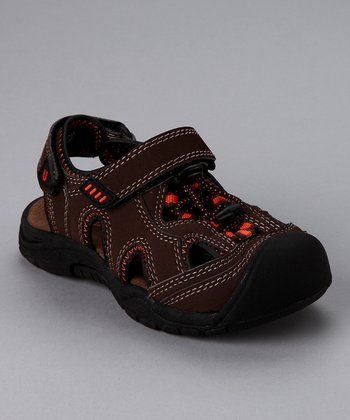 Chocolate Nile Sandal - Toddler & Boys
