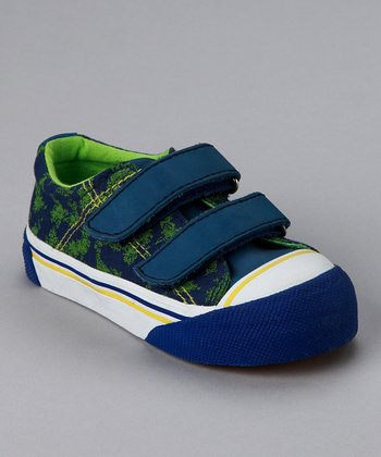 Blue & Green Action Shoe - Toddler & Boys