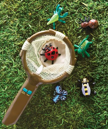 Junior Fun Facts Talking Bug Net Set