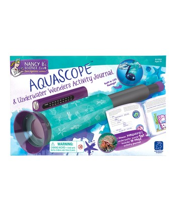 Aquascope & Underwater Activity Journal Set