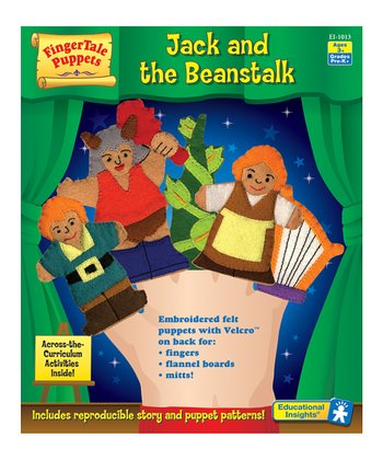Jack & the Beanstalk Puppet Set