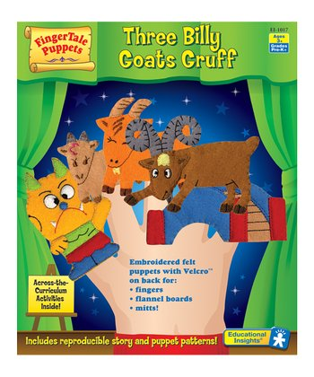 Three Billy Goats Gruff Puppet Set