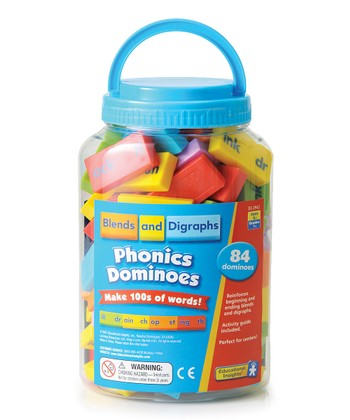 Blends & Digraphs Phonics Dominoes