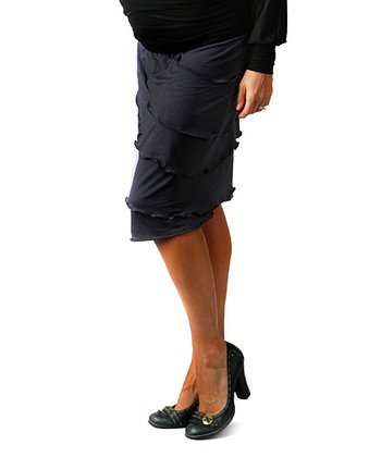 Black Grace Maternity Skirt