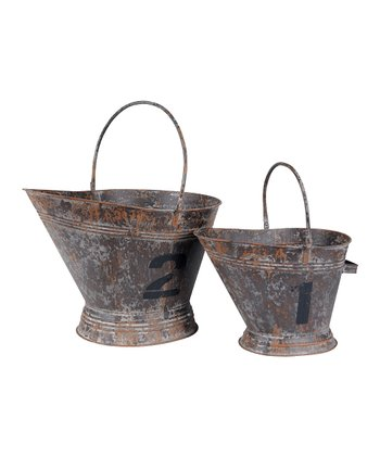 Gray Weathered Basket Set