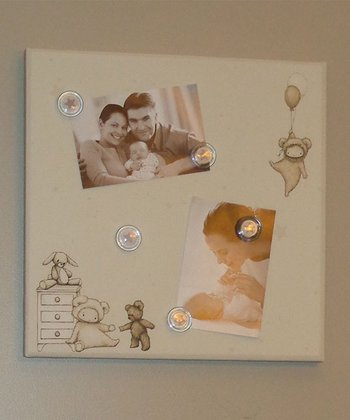 Beige 'Baby' Photo/Memo Board