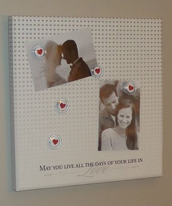 White 'Love' Photo/Memo Board