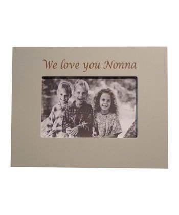 Oyster 'We Love You Nonna' Frame