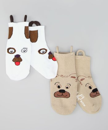 Bear & Dog Socks Set