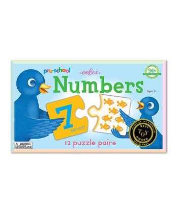 Preschool Numbers Puzzle Pair Set