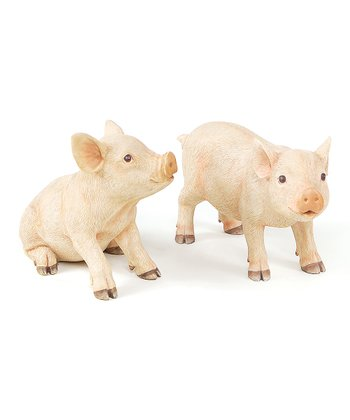 Pig Figurine Set