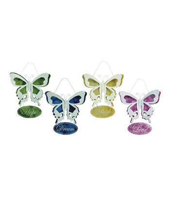Butterfly Plaque Set