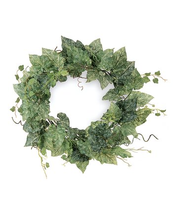 Grape Leaf Wreath