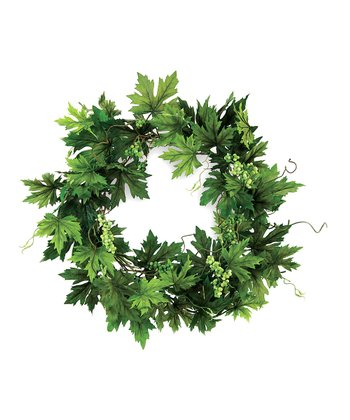 Maple Leaf Berry Wreath