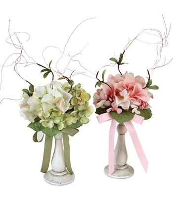 Hydrangea Vase - Set of Two