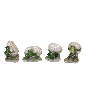 Frog Figurine Set