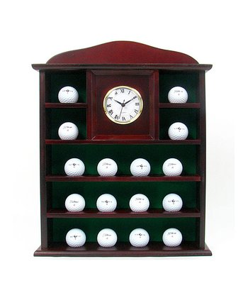 Golf Ball Holder & Clock