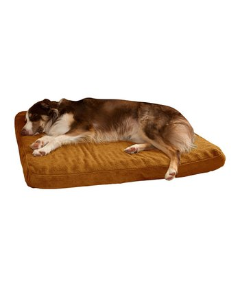 Camel Rounded Orthopedic Foam Pet Bed