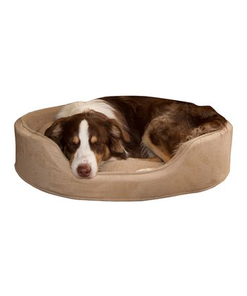 Clay Fur Cuddler Pet Bed