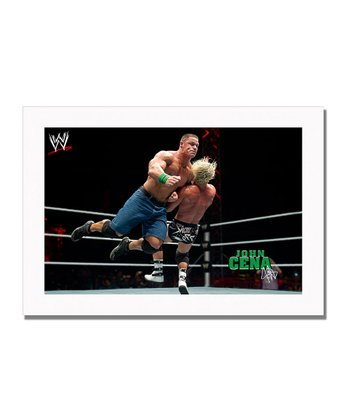 19'' John Cena Clothesline Canvas Art