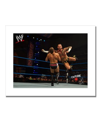 19'' CM Punk Flying Clothesline Canvas Art