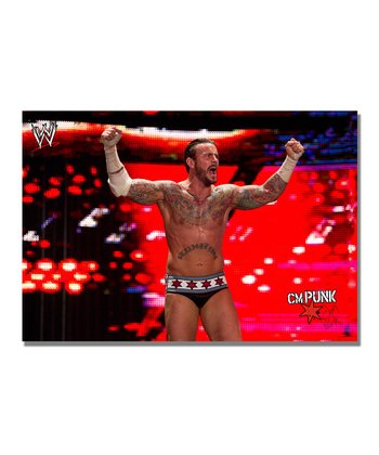 32'' CM Punk Victory Gallery-Wrapped Canvas