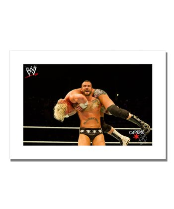 19'' CM Punk The Wind Up Canvas Art