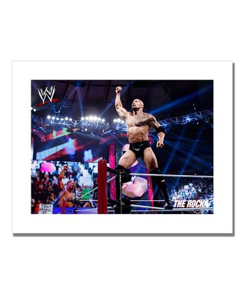 19'' The Rock Victory Canvas Art