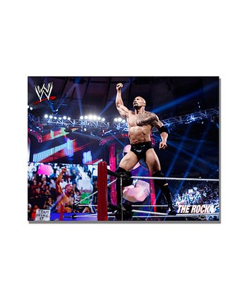24'' The Rock Victory Gallery-Wrapped Canvas