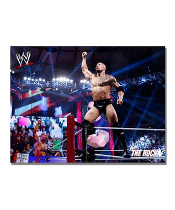32'' The Rock Victory Gallery-Wrapped Canvas