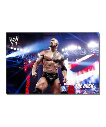 32'' The Rock What's Cooking Gallery-Wrapped Canvas