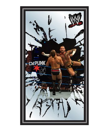 CM Punk Framed Logo Mirror