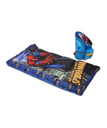 Spider-Man Sleeping Bag & Backpack