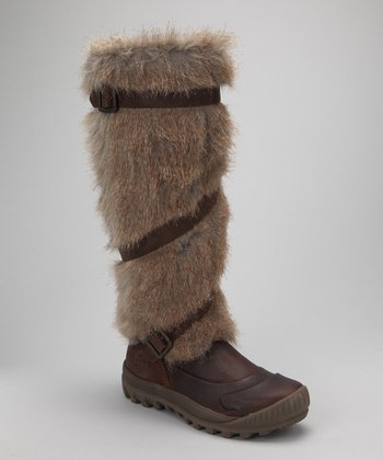 Brown Mount Holly Tall Boot - Women