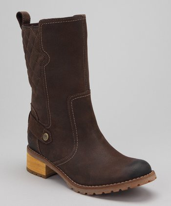 Dark Brown Apley Mid Boot