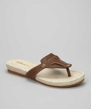 Dark Brown Narragansett Sandal
