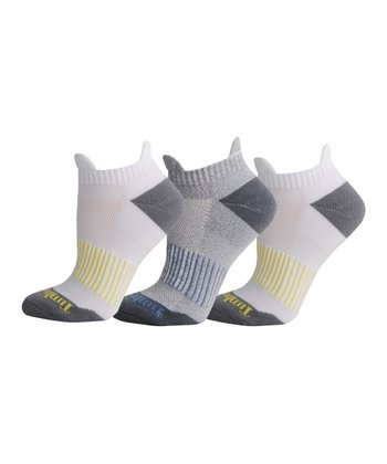 White & Gray Low Rider Socks Set