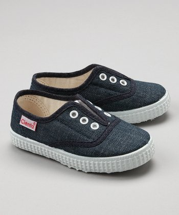 Blue Canvas Sneaker